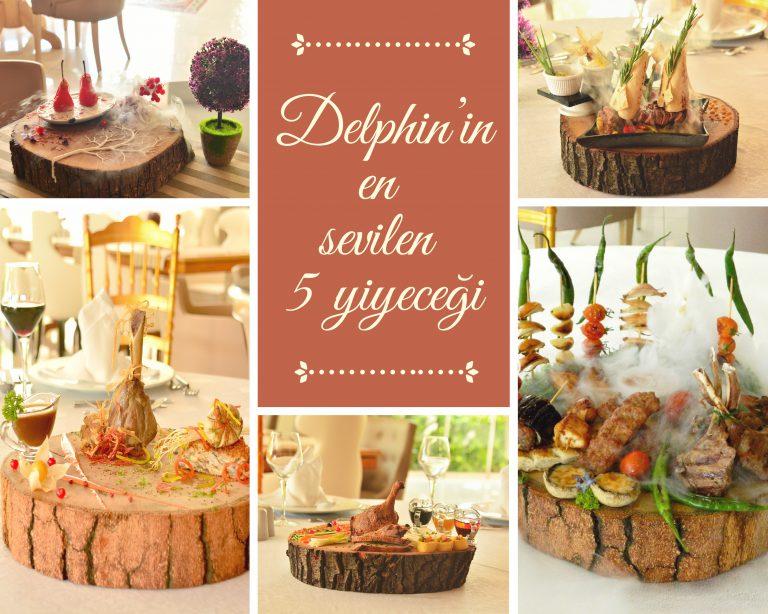 Delphin'in En Sevilen 5 Yiyeceği
