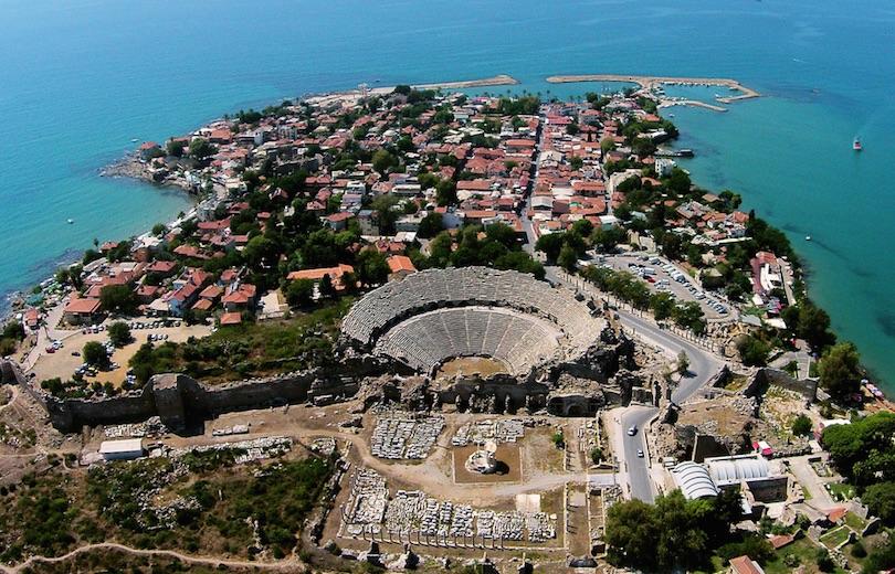 Side Antik Kenti Antalya Delphin Blog Gururla Sunar