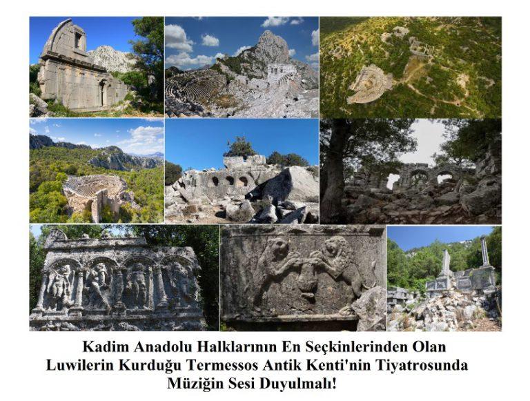 Termessos Antik Kenti / Likya Birliği / Antalya – Psidia