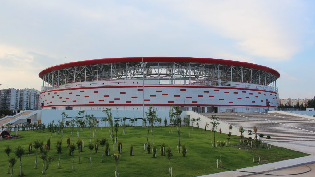 Antalyaspor Stadı dıştan görünüm