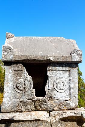 Mezar Kalıntıları-Termessos Antik Kenti