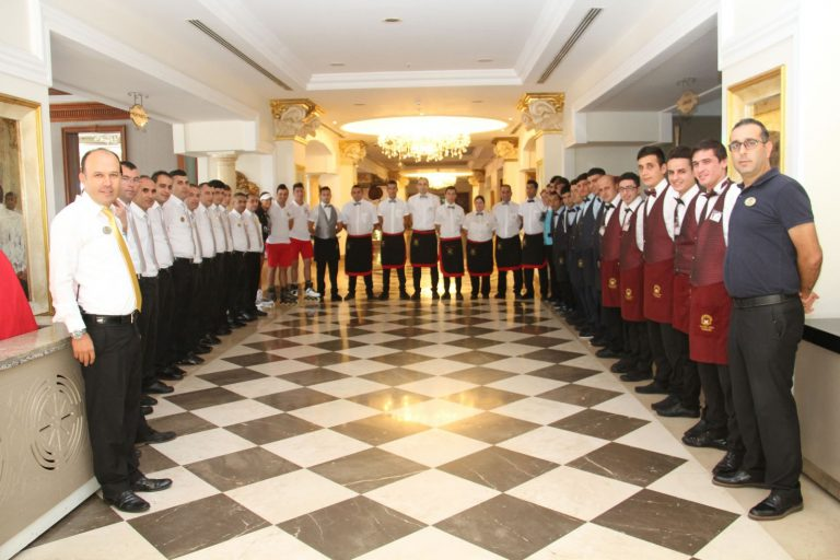 DELPHİN DİVA HOTEL SERVİS DEPARTMANI