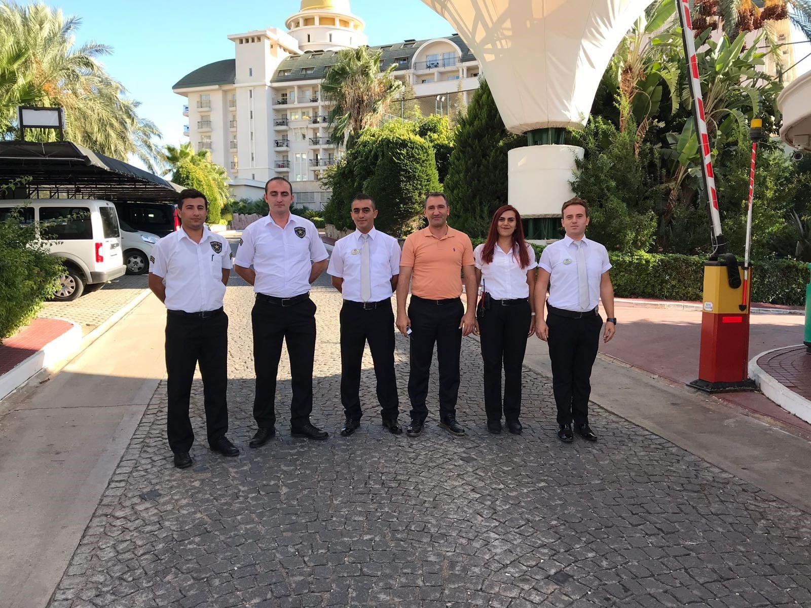 DELPHİN DİVA PREMİERE HOTEL GÜVENLİK DEPARTMANI