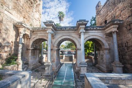 Hadrian Kapısı kaleiçi