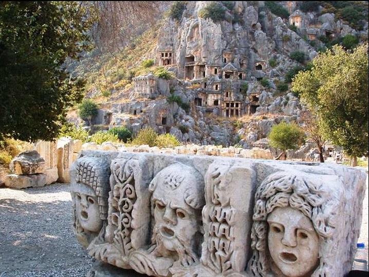 Myra (Mira) Antik Kenti / Likya Birliği