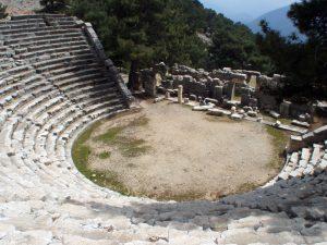 Arykanda Antik Tiyatrosu