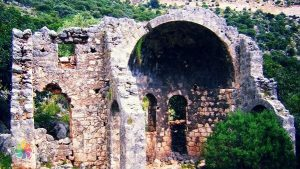 Soura Antik Kenti'nde Apollon Tapınağı kehanet Merkeziydi