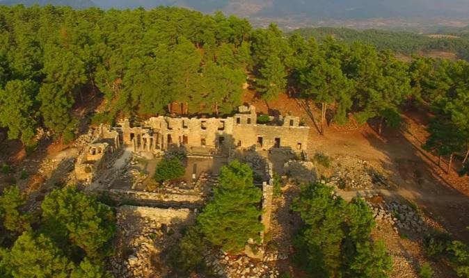 Lyrbe (Seleukeia) Antik Kenti / Pamfilya