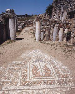 Xanthos Antik Kenti kültürü ve sanatından seçkin örnekler. Bu muhteşem mozaikler tarihe ışık tutmakla kalmıyor, fikir de veriyor.