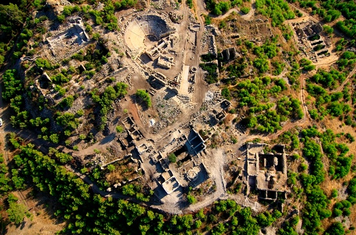 Phodiapolis/Wedrenni Antik Kenti / Likya Birliği