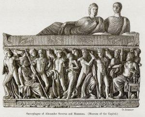 Lexander Severus ve Mammaea'nın Lahitleri (Capitol Müzesi)
