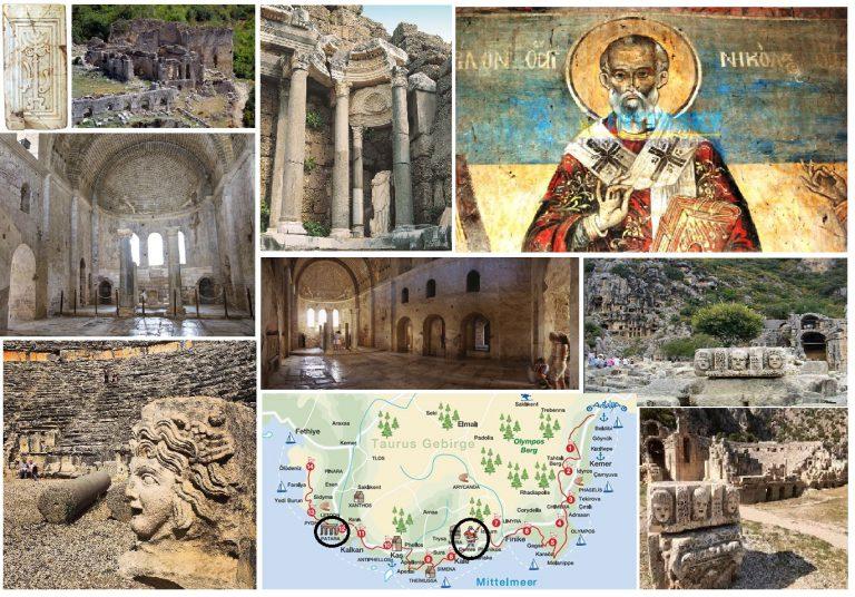 Likya Uygarlığında Hıristiyanlığın Etkileri ve Arap Akınları / Antalya Bölgesi