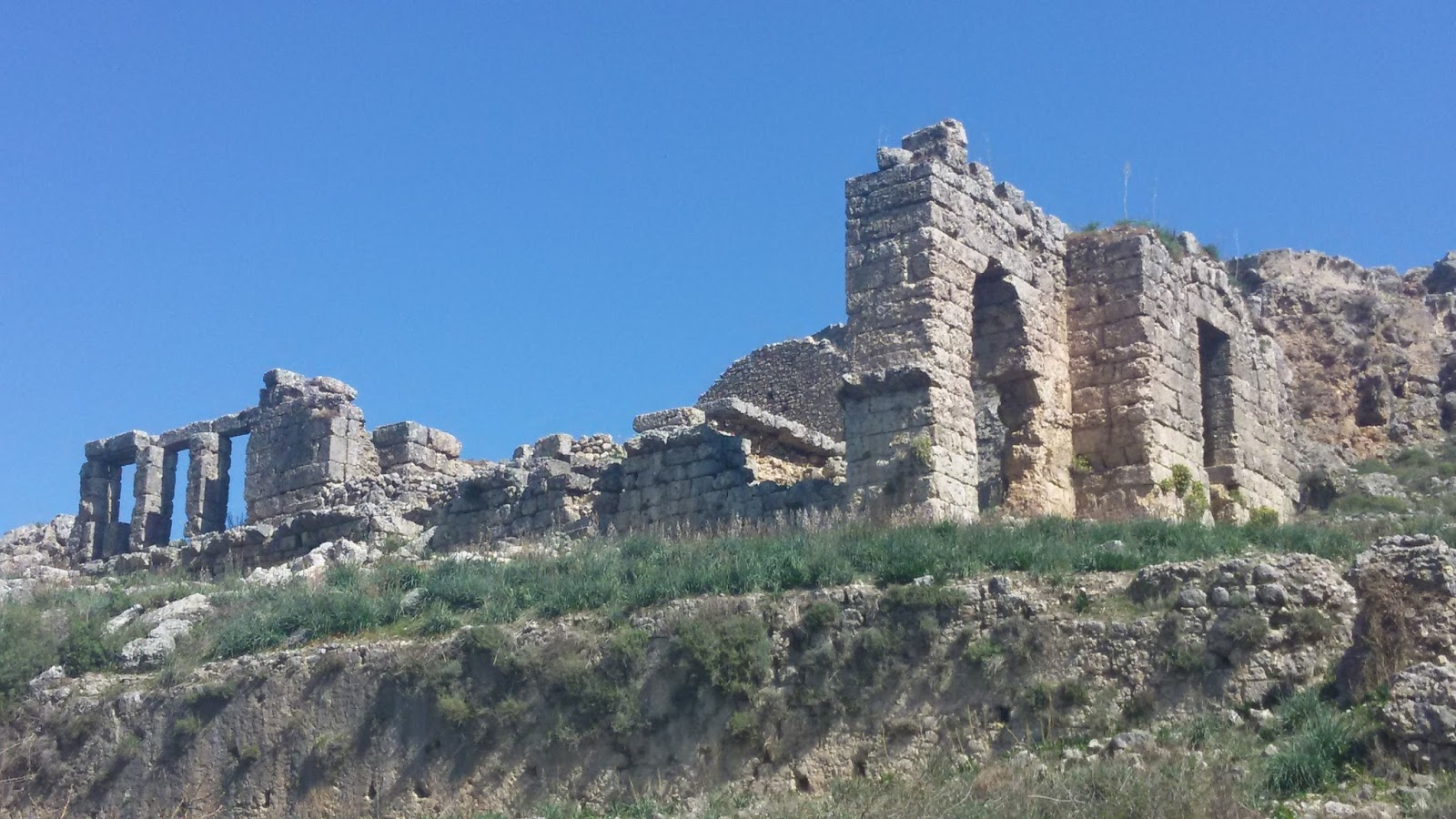 Sillyon / Sillion / Syllion / Trainapolis Antik Kenti – Antalya / Pamfilya