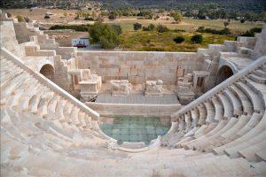 Patara Antik Kenti Dünyada Demokrasinin İlk Filizlendiği Yer.
