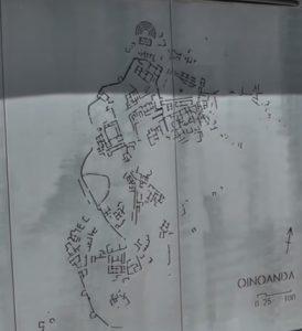 Oinoanda Antik Kenti'nin Şeması