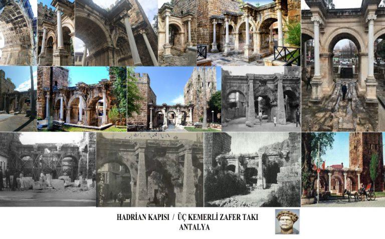Hadrian Kapısı – Üç Kemerli Zafer Takı – Üç Kapılar / Antalya