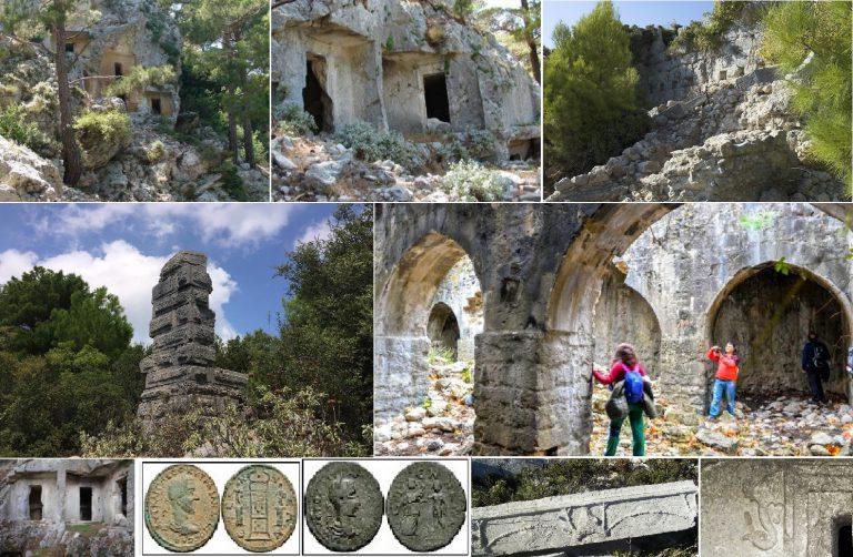 Watanna / Etenna Antik Kenti / Psidya Bölgesi / Antalya-Manavgat