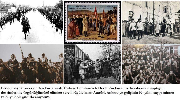 Atatürk'ün 27 Aralık 1919'da Ankara'ya Gelişi ve Seymen Hareketleri