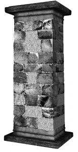 "Stadiasmus Patarensis Yol Anıtı'nın ""A"" yüzü."