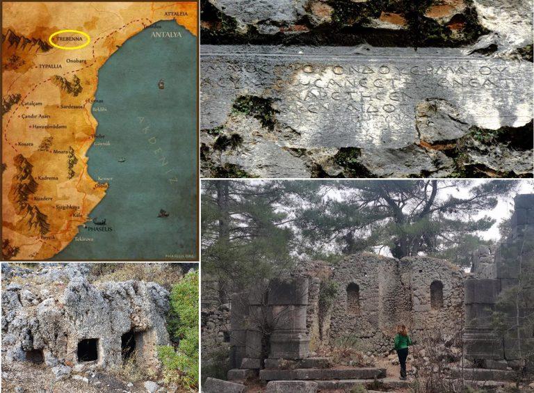 Trebewana/Trebenna/Tresena/Perbaina Antik Kenti – Likya-Pamfilya Uygarlığı