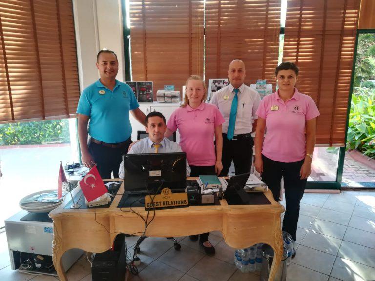 DELPHIN PALACE HALKLA İLİŞKİLER DEPARTMANI-2018