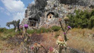 Thera Antik Kenti, doğu nekrapolisler