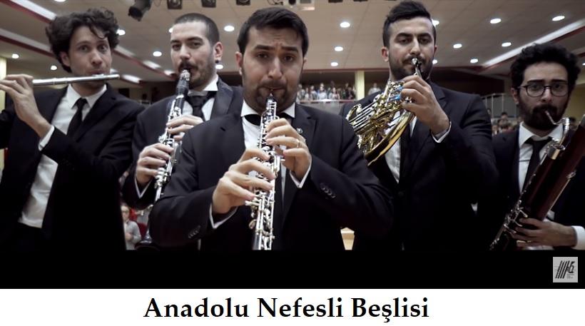 """""""Anadolu Nefesli Beşlisi""""nden 18 Mart Çanakkale Zaferi Atatürk ve Şehitlerimizi Anma Günü Anısına Özel Klip"""