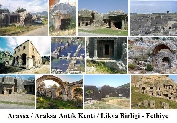 Araththi/Araxa/Araksa Antik Kenti / Likya Birliği / Fethiye