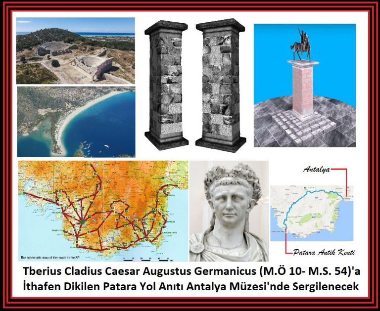 """İnsanlık Tarihinin Önemli Miraslarından Olan  Patara Yol Anıtı """"Stadiasmus Patarensis"""" Antalya Müzesi'nde Sergilenecek"""