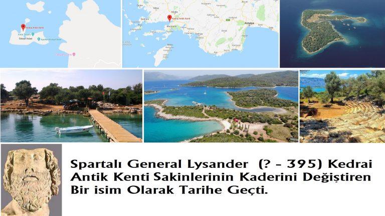 Cedrae/Kedrai/Kedrae Antik Kenti / Sedir Adası / Muğla – Marmaris