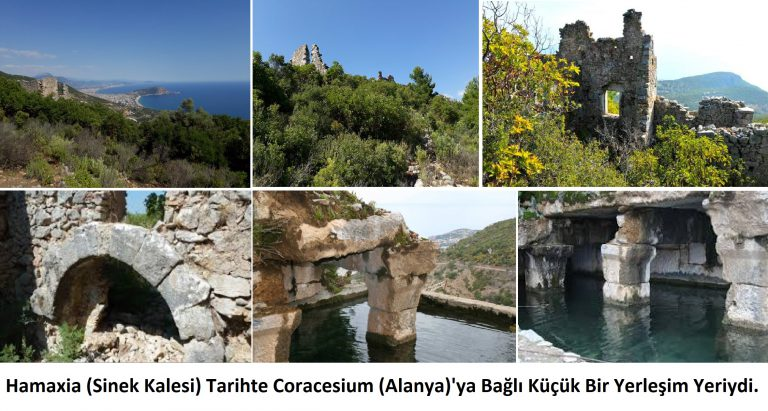 Hamaxia/Hamaksya Antik Kenti (Sinek Kalesi) / Pamfilya – Klikya Sınırları İçerisinde Bir Küçük Yerleşke -Alanya