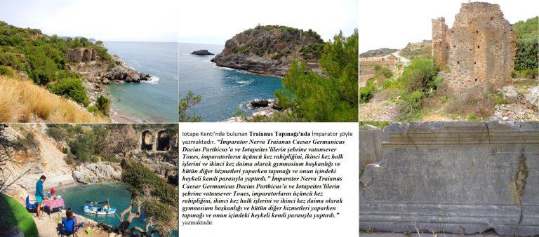 Iotape Antik Kenti'nde İnançlar ve Traianus Tapınağı / Kilikya / Antalya Gazipaşa