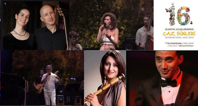 Alanya Geleneksel Jazz Festivali 16 Yaşına Bastı