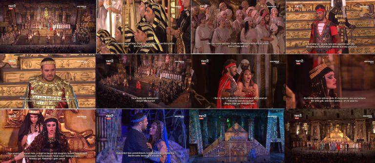 Aspendos Tiyatrosu'nda Sergilenen Tarihi Aida Operası