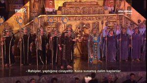 Aida Operası Aspendos'da...