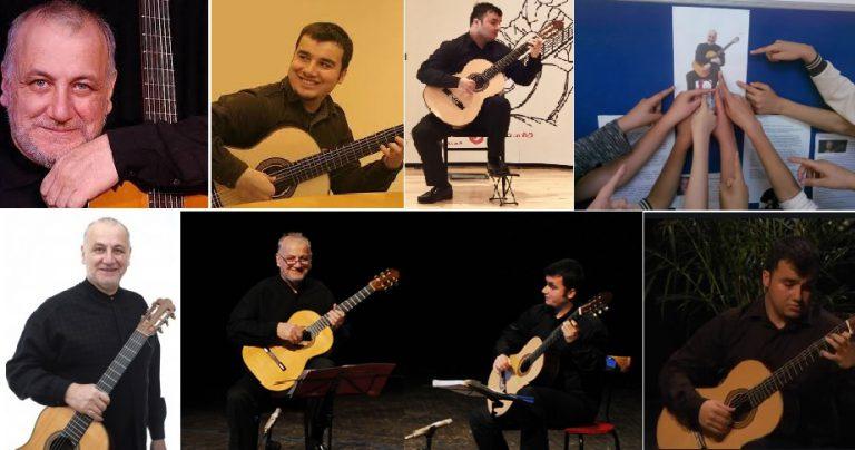 Ulusal ve Uluslararası Gitar Sanatçımız Ahmet Kanneci ve Özcan Dal Alanya'da 1750 Kişiye Konser Verecek