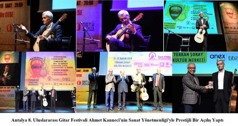 Dünyaca Ünlü Gitarist Massimo Delle Cese Antalya'da Muhteşem Bir Konser Verdi