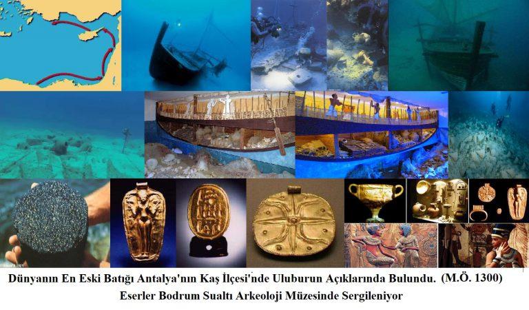 Dünyanın En Eski Ticari Açık Deniz Batığı Antalya'da (2 Uluburun Batığı)
