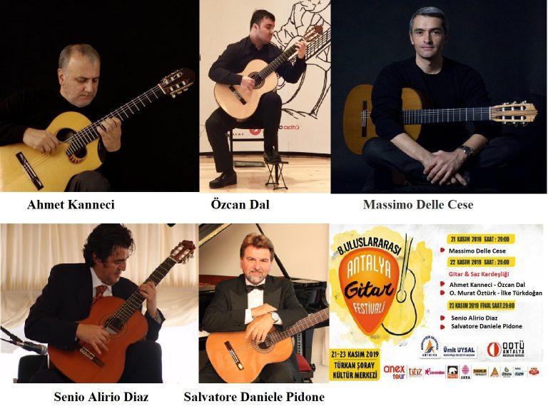 Antalya Uluslararası Gitar Festivali 8 Yaşında