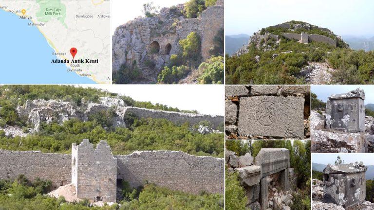 Lamus Antik Kenti / Klikia Bölgesi / Antalya – Gazipaşa – Adanda