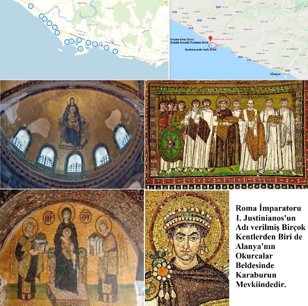 Roma İmparatoru I. Justinyen Adına Üç Kıtada Justinianopolis Adında Şehirler Kuruldu