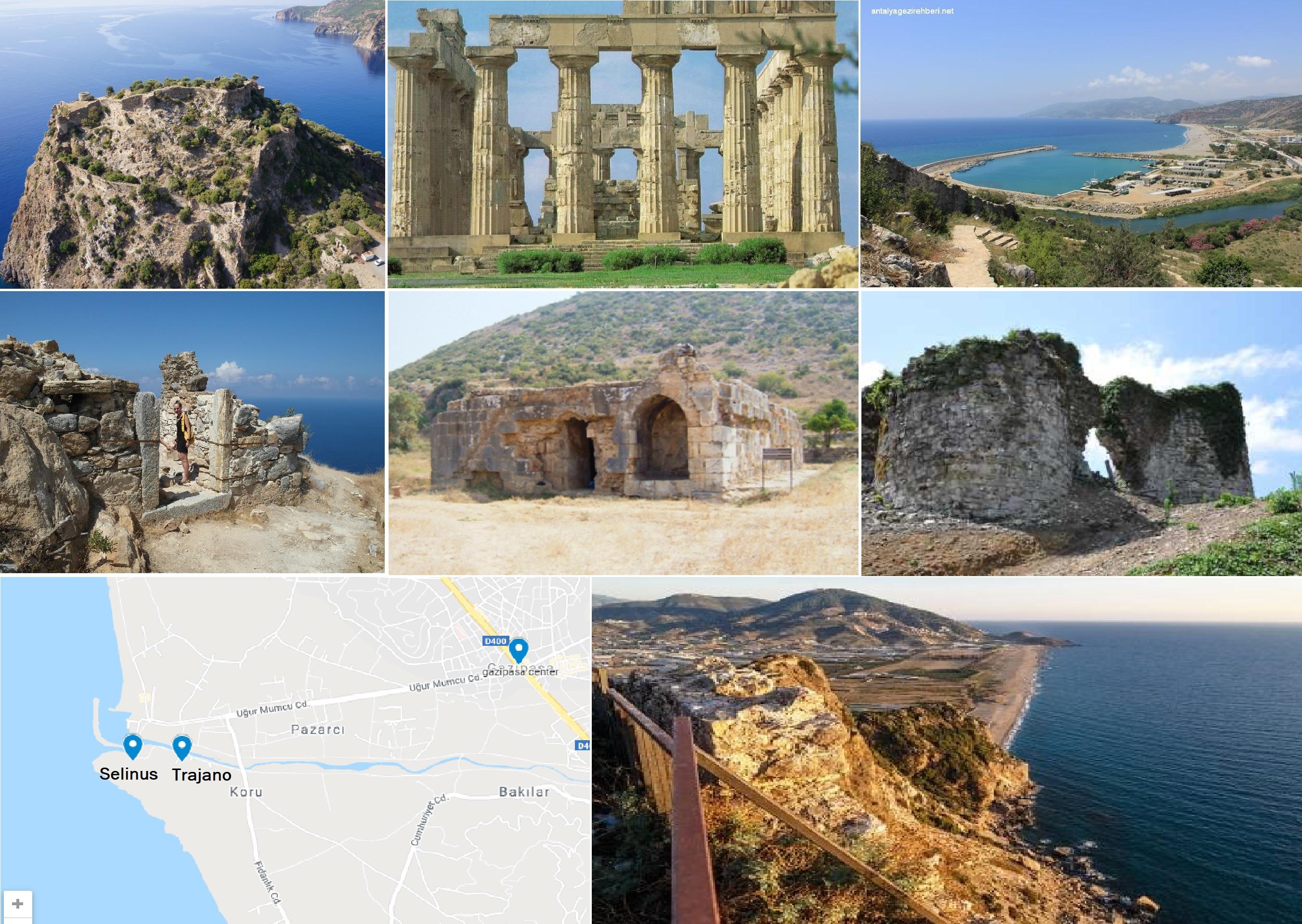 Selen/Sallune/Selinus/Trajanopolis/Castelo Lombardo/Antik Kenti – Kilikya / Antalya – Gazipaşa