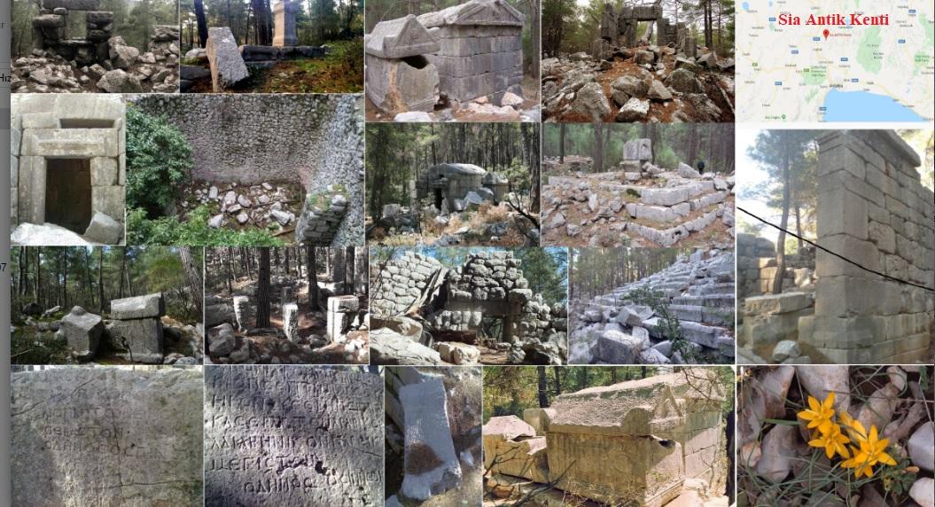 Sia Antik Kenti / Pisidia – Antalya