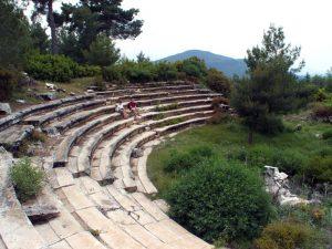 Hyllarima Antik Kenti'nin Tiyatrosu