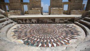 Kibyra Antik Kenti medusa mozaiği