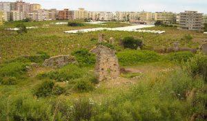 Alanya'da apartmanların arasında kalan Naula Antik Kenti tarihi gerçekten çok sevenlerin ilgisini bekliyor.