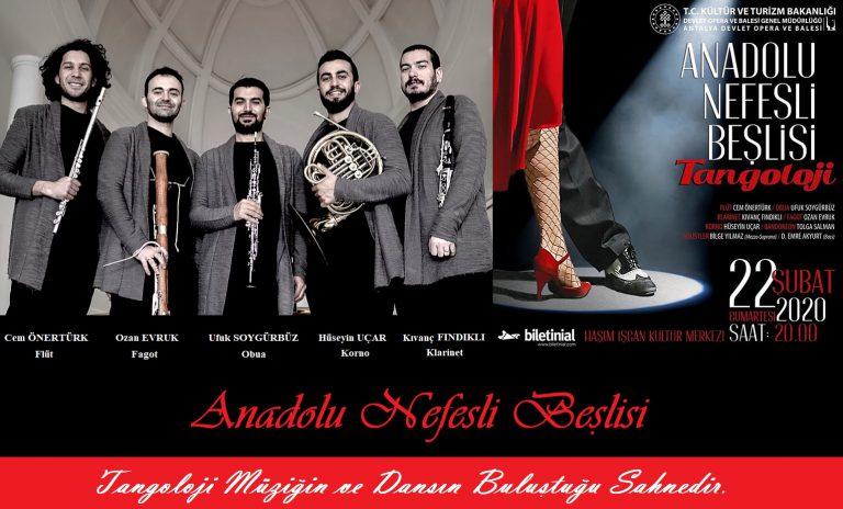 """Anadolu Nefesli Beşlisi """"Tangoloji"""" Çalışması İle Yine Antalya'da Sanat Severlerin Gönlünü Fethedecek"""