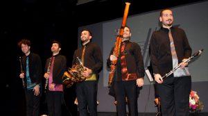 Anadolu Nefesli Beşlisi her konserde arkalarında yeni bir hayran kitlesi yaratıyorlar.