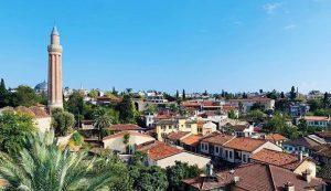 Antalya keleiçi burmalı camii
