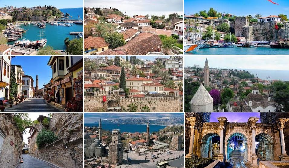 Antalya Kaleiçi Turizmin Altın Noktası